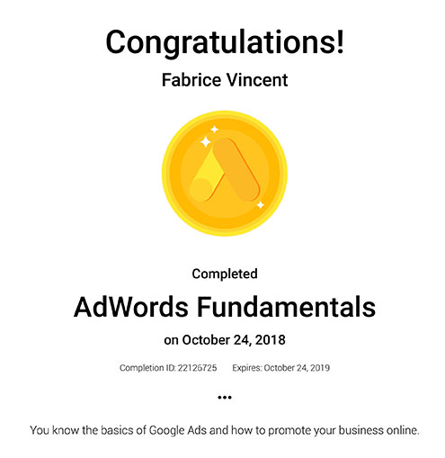 google add words completion