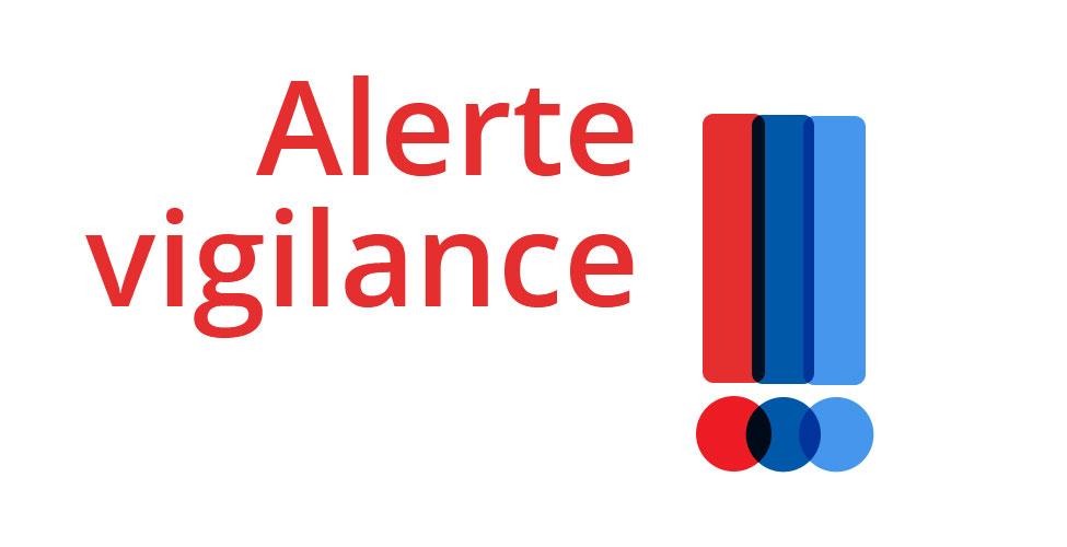 alerte vigilance Réglement RGPD